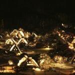 平成24年度(2012/02/11)第5回・白川郷ライトアップに行ってきた