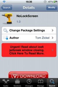 NoLockScreen