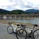 ロードバイクで大坂城から京都嵐山へ